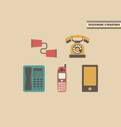 246telephone evolution vector