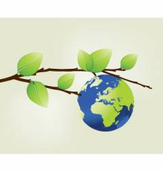 Branch and world vector