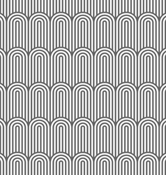 Striped flaked monochrome seamless pattern vector
