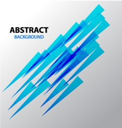 Abstract background blue sharp wave vector image
