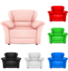 Set of chairs vector