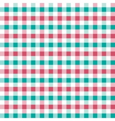 Seamless retro squared fabric vector