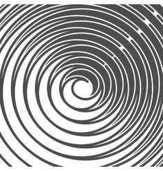 Abstract Spiral Background Retro Style Black And vector image vector image