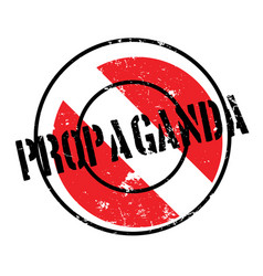 Propaganda rubber stamp vector
