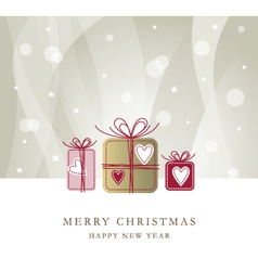New year card vector