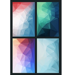 abstract background in modern style flat vector image vector image