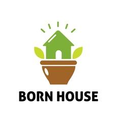 Born house design vector