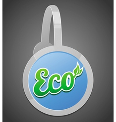 Ecology label vector