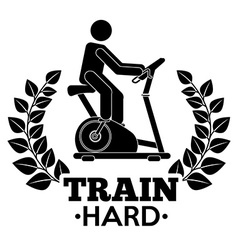 Train hard vector