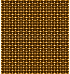gold grate vector image vector image