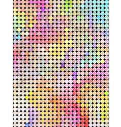 Sweet dot color background vector