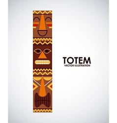 totem design vector image