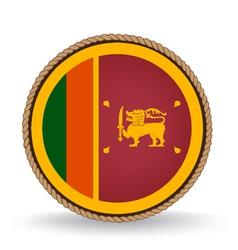 Sri Lanka Seal vector image