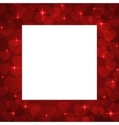 Valentine bokeh background vector