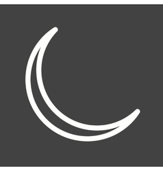 New moon vector