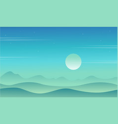 Game background with desert style collection vector