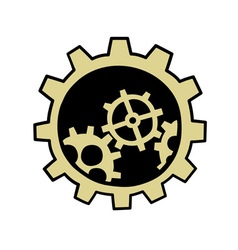 gears element vector image vector image