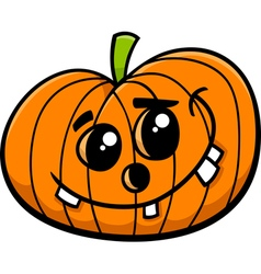 Jack halloween pumpkin cartoon vector