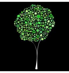 tree shape vector image
