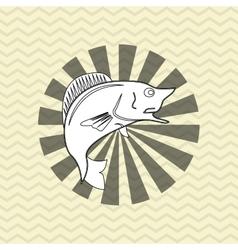 Fishing design camp concept sport vector