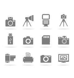 Photo an icon vector