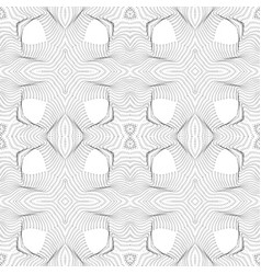 Warped parametric surface shape pattern vector