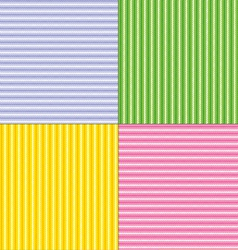 Easter stripes vector