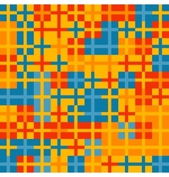 Colorful crosses pattern vector