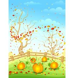 Country autumn vector