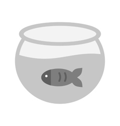 Fish in tank vector