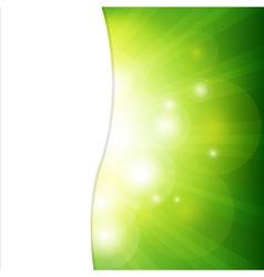 Green background with sunburst vector