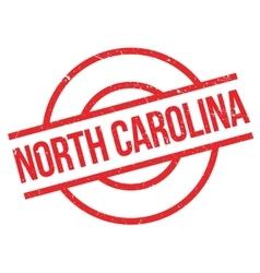 North carolina rubber stamp vector