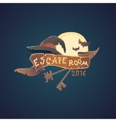 Real-life room escape vector image vector image