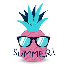 Summer banner with fruit in glasses place for vector