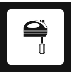 Mixer icon simple style vector