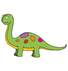 Dinosaur toy vector