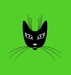 cat mask vector image
