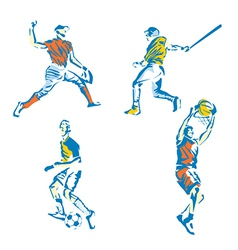 Sports stylized vector
