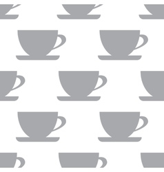 New cup seamless pattern vector
