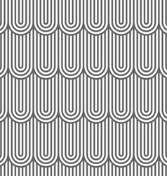 Striped flaked seamless pattern vector