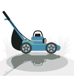 Mower vector image