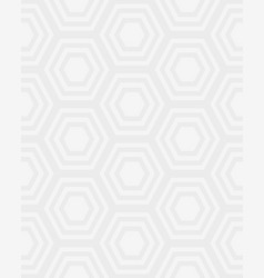 Seamless pattern hexagon vector