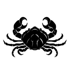 Stylised crab vector