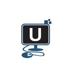 Digital technology initial u vector