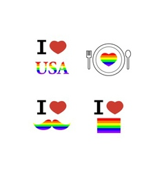 Celebrate pride vector