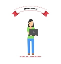 Online teacher competence and knowledge vector
