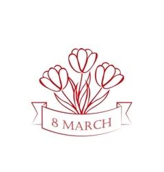 8 march card sketch vector