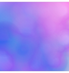 Abstract blurred background pink and blue shades vector
