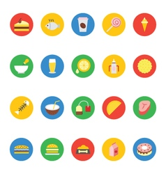 Food icons 9 vector