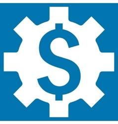 Dollar Options Flat Icon vector image